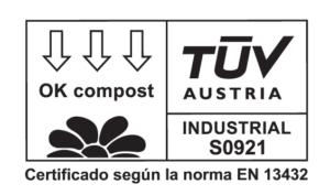 certificado compostable Bolsas biodegradables perro